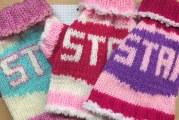 Comment faire les motifs de lettres pour tricot