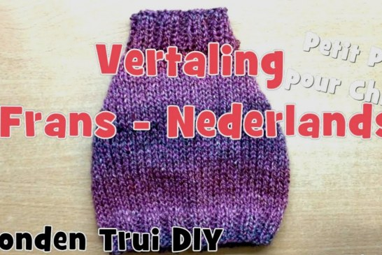 DIY Honden Trui Breien (Nederlands)